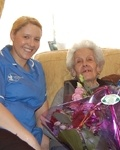 Bluebird Care helps Conrada celebrate 101 great years!