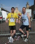Auditel Consultant runs in the 2010 Italian Marathon on behalf of the Neuroblastoma Society
