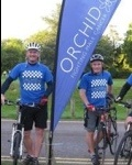 400 miles in 37 hours for fundraising duo
