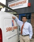 Meet Signs Express (Twickenham) Franchisee Jayesh Patel