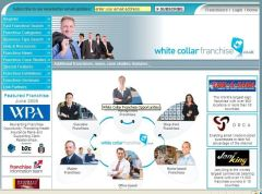 www.WhiteCollarFranchise.co.uk is born