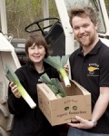 Jim & Anna Harbridge run their Riverford Organic franchise in Portsmouth