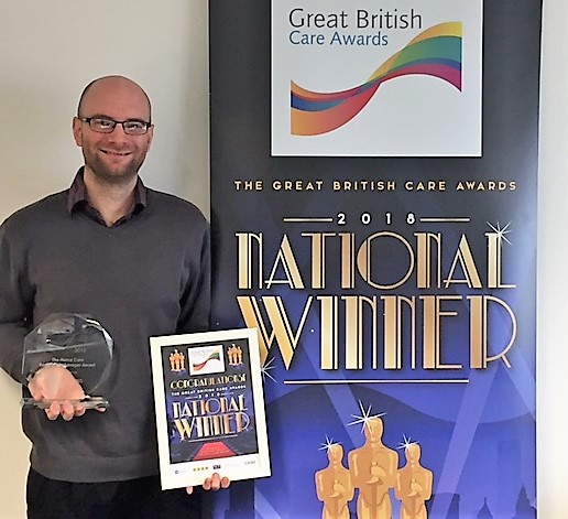 Young Home Care Franchise Clinches Top Care Accolade at Great British Care Awards