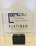 Platinum Property Partners Named Best Property Investment Specialists 2018