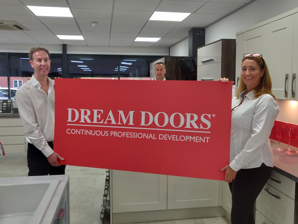 Dream Doors launching two new territories after latest training course
