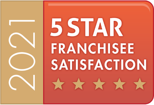 5-stars Franchisee Satisfaction awarded to Aspray